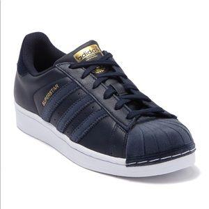 Adidas Superstar Velvet Toe Stripes Sneaker 9.5